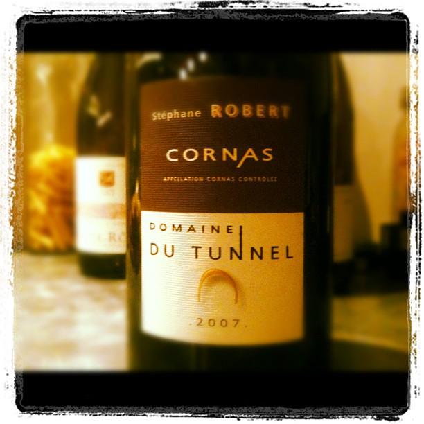 Blog vin - Domaine du Tunnel - Cornas - 2007 - Rhône