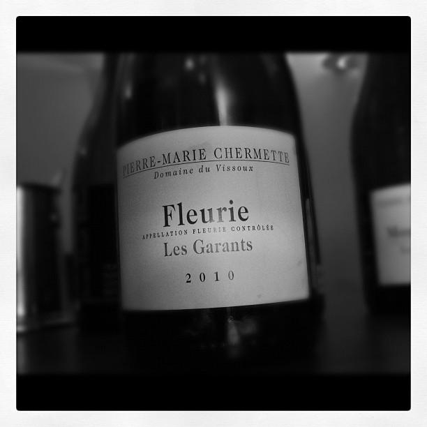Blog vin - Domaine du Vissoux - Fleurie - Les Garants - 2010 - Beaujolais