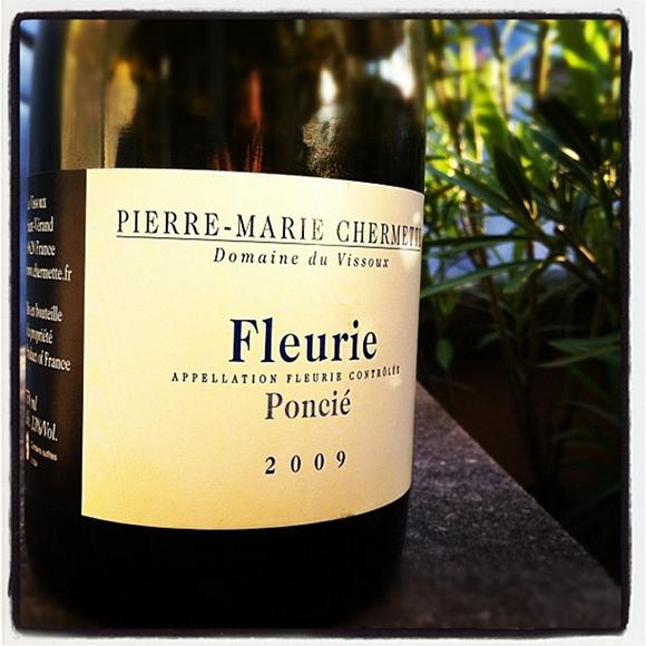 Blog vin - Domaine du Vissoux - Fleurie - Poncié - 2009 - Beaujolais