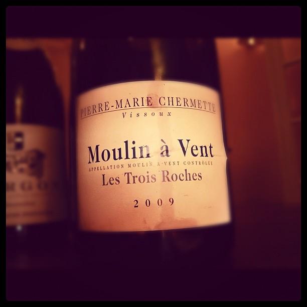 Blog vin - Domaine du Vissoux - Moulin à vent - Les Trois Roches - 2009 - Beaujolais