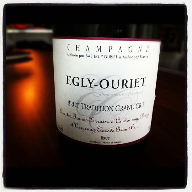 Blog vin - Egly Ouriet - Brut Tradition Grand Cru - Champagne