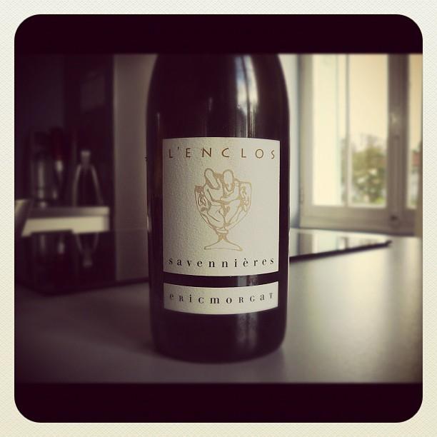 Blog vin - Eric Morgat - Savennières - L'Enclos - 2010 - Loire