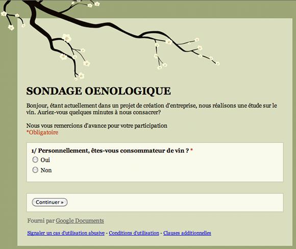 Blog vin - Etude oenologique