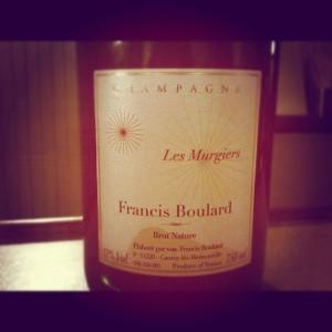 Francis Boulard – Les Murgiers – Brut Nature – Champagne