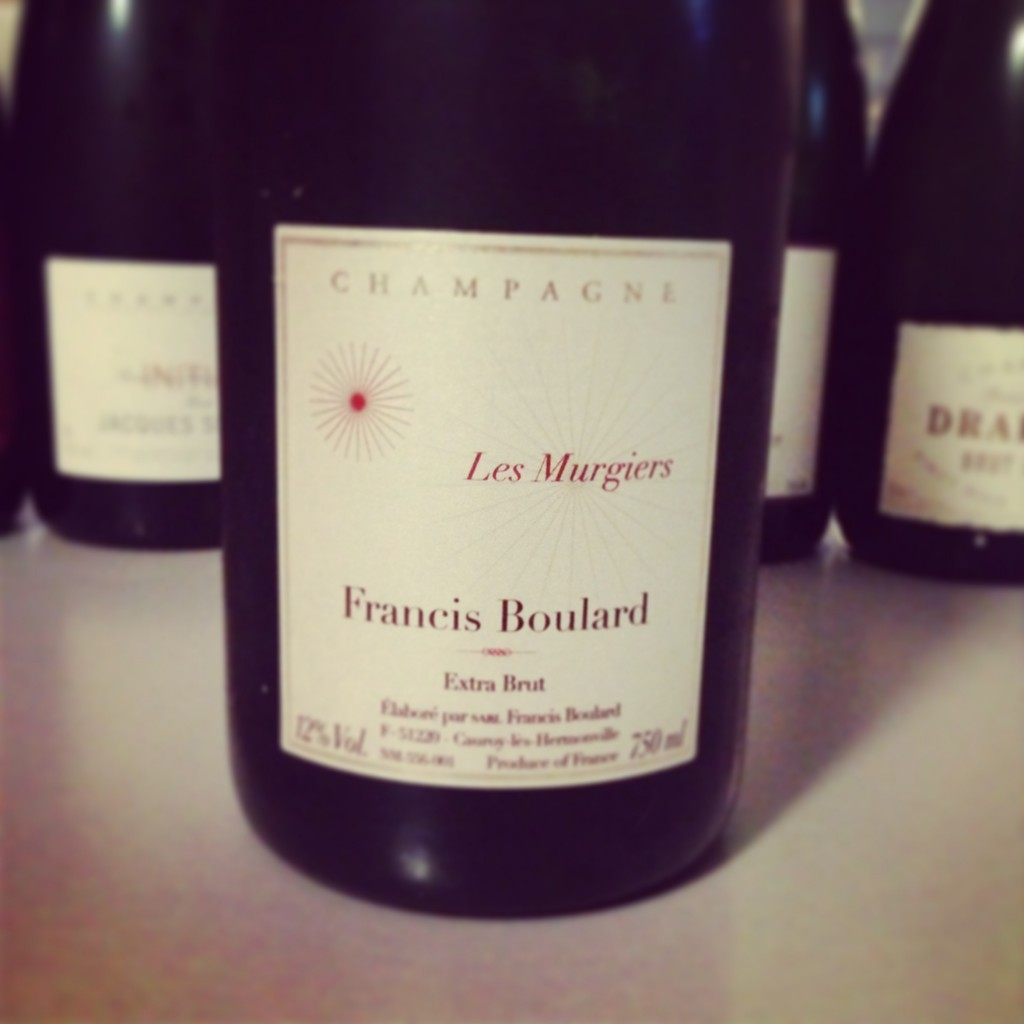 Blog vin - Francis Boulard - Les Murgiers - Extra Brut - Champagne