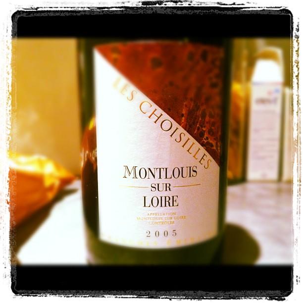 Blog vin - Francois Chidaine - Les Choisilles - 2005 - Montlouis