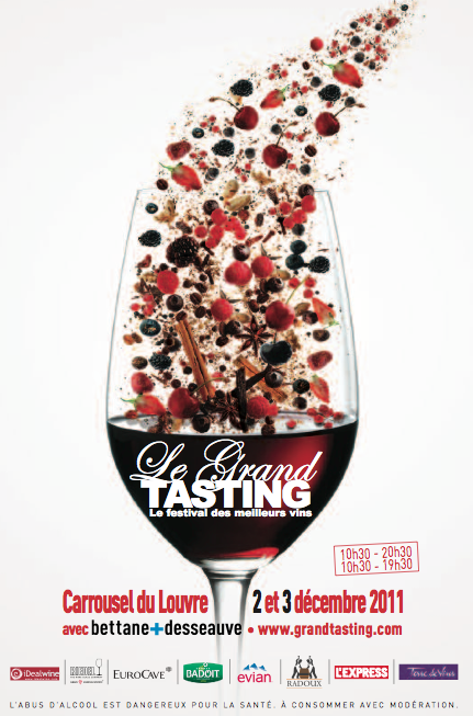 Blog vin grand tasting 2011 le programme presque for Calendrier salon des vins