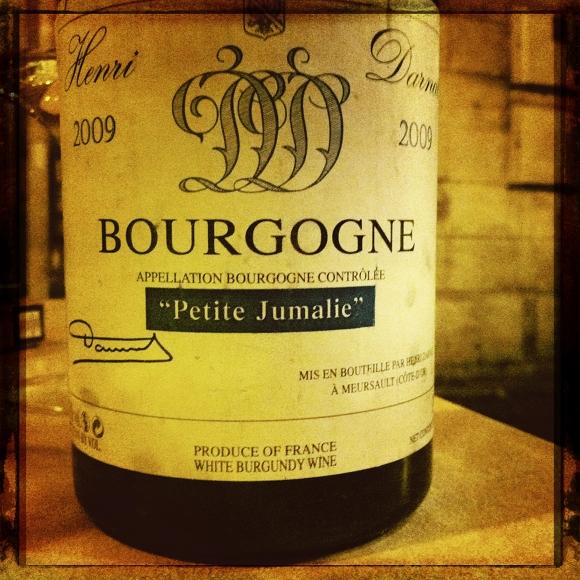 Blog vin - Henri Darnat - Petite Jumalie - Bourgogne blanc - 2009