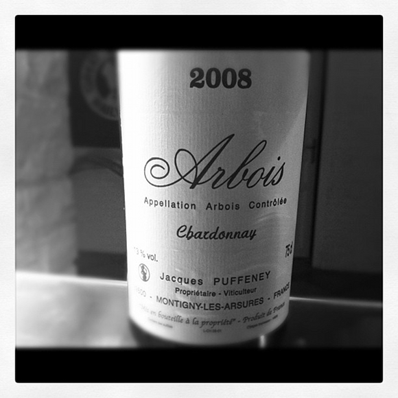 Blog vin - Jacques Puffeney - Arbois - Chardonnay - 2008