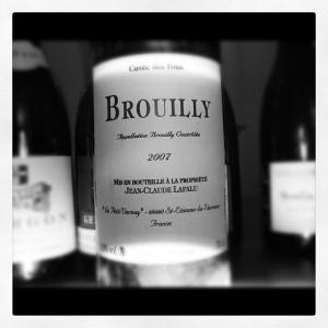 Jean Claude Lapalu – Brouilly – Cuvée des Fous – 2007 – Beaujolais