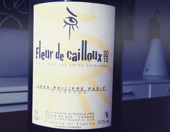 Blog vin - Jean Philippe Padie - Fleur de cailloux - VDP des cotes catalanes - 2010 - roussillon
