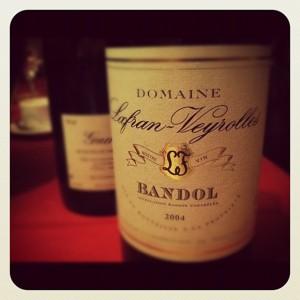 Domaine Lafran Veyrolles – Cuvée spéciale – 2004 – Bandol