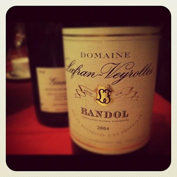 Blog vin - Lafran Veyrolles - 2004 - Bandol