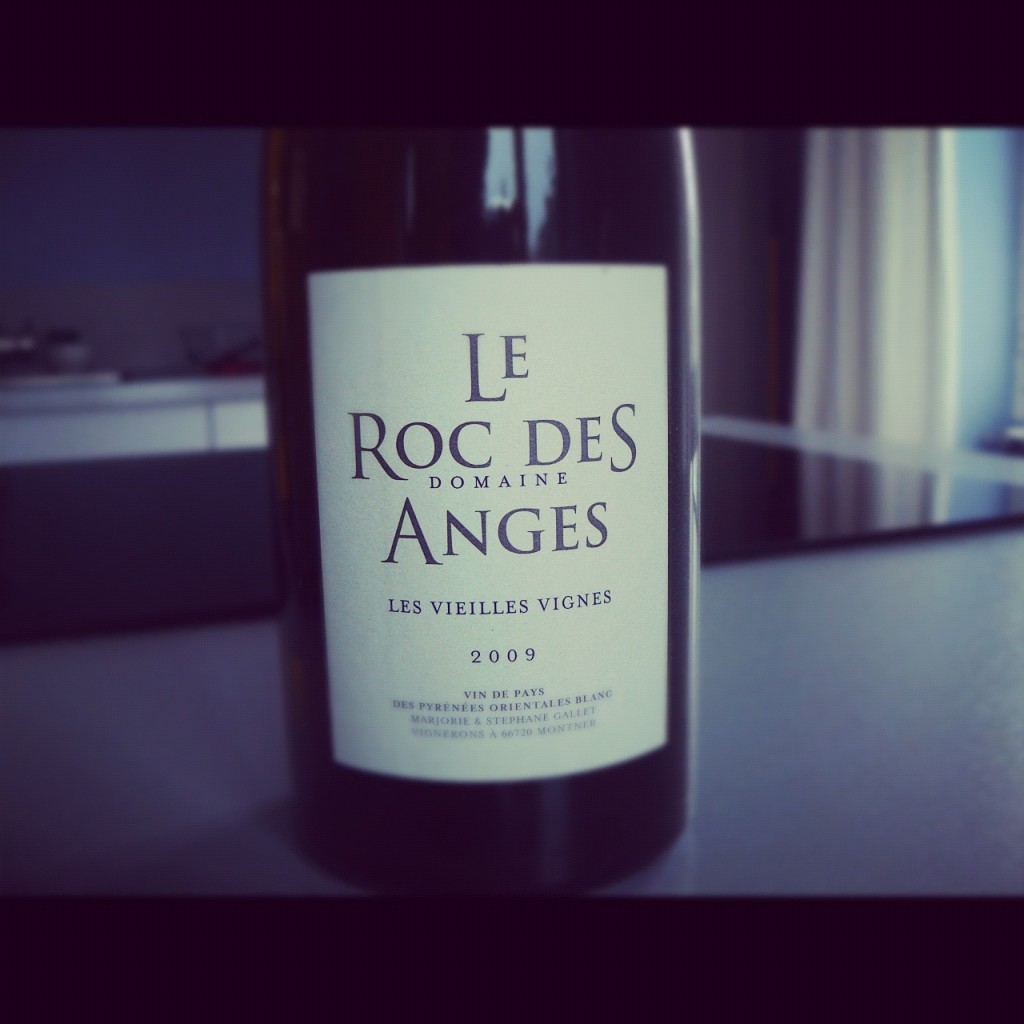 Blog vin - Le Roc des Anges - Vieilles Vignes - Blanc - 2009 - VDP Pyrénées Orientales - Roussillon