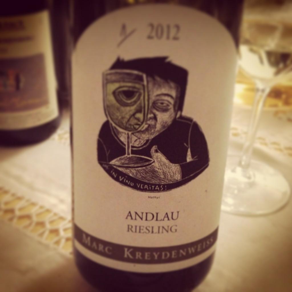 Blog vin - Marc Kreydenweiss - Alsace - Riesling - Andlau - 2012