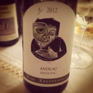 Marc Kreydenweiss – Alsace – Riesling – Andlau – 2012
