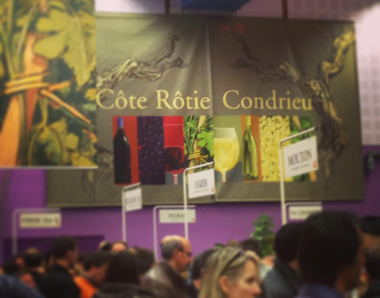 Blog vin - Marché aux vins - Ampuis - 2014 - Cote Rotie - Condrieu