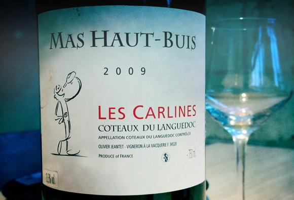 Blog vin - Mas Haut Buis - Les Carlines - 2009 - Coteaux du Languedoc