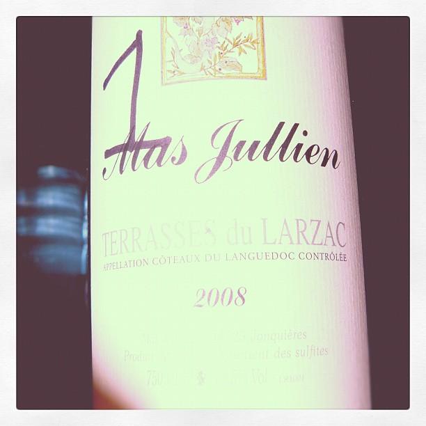 Blog vin - Mas Jullien - 2008 - Terrasses du Larzac - Languedoc