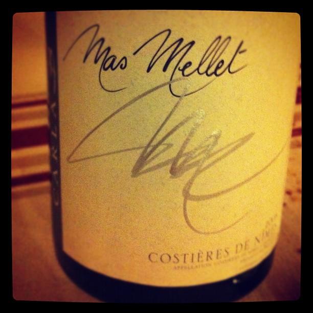 Blog vin - Mas Mellet - Carla B - 2007 - Costieres de Nimes