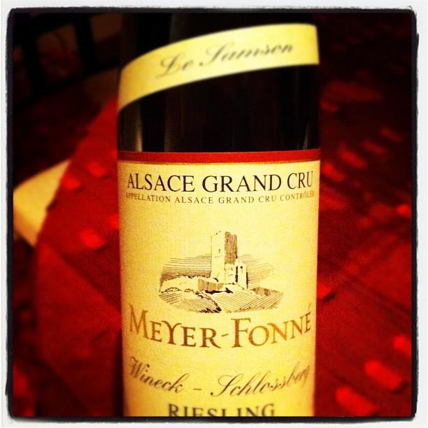 Blog vin - Meyer Fonné - Wineck Schlossberg - Riesling - 2008