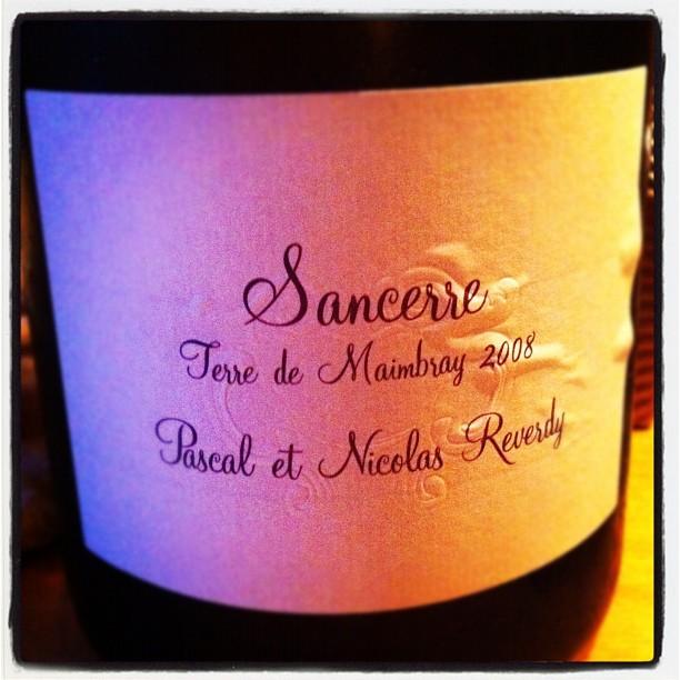 Blog vin - Pascal et Nicolas Reverdy - Sancerre - blanc - Terre de Maimbray - 2008