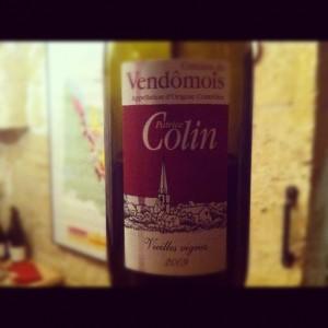 Patrice Colin – Vieilles vignes – 2009 – Coteaux du Vendomois