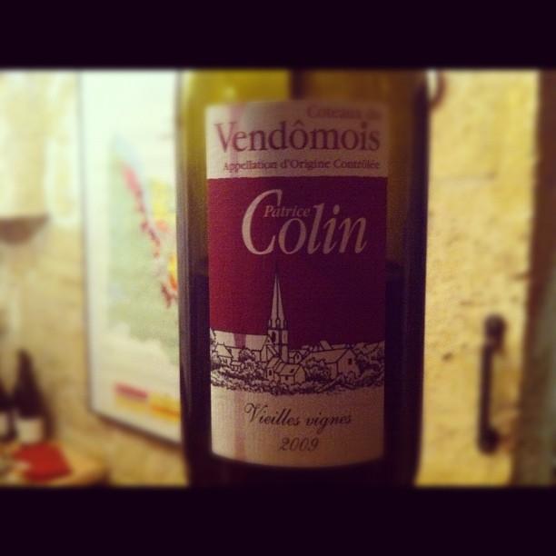 Blog vin - Patrice Colin - Vieilles vignes - 2009 - AOC Coteaux du Vendomois