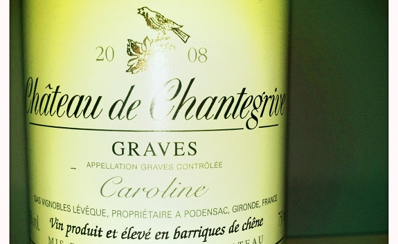 Chateau de Chantegrive - Graves - 2008