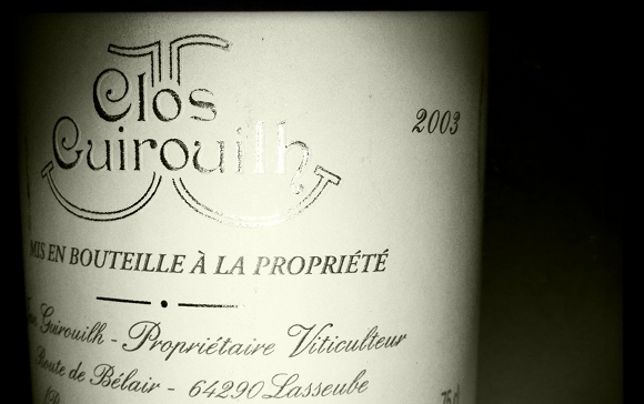 Clos Guirouilh - jurancon moelleux - 2003