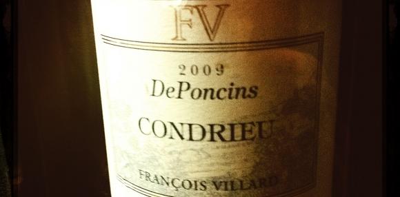 Condrieu - Francois villard - De Poncins - 2009