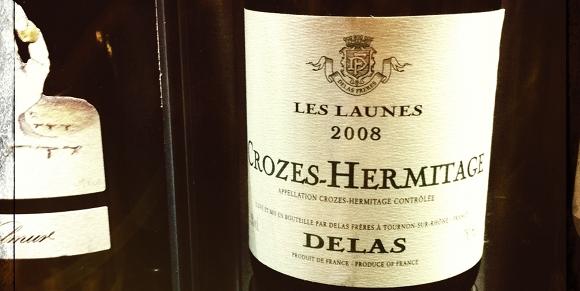 Crozes Hermitage - Blanc - Delas - Les Launes - 2008