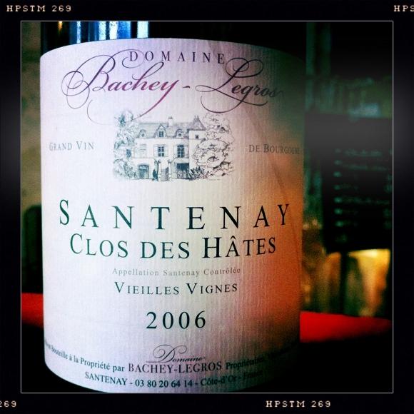 Domaine Bachey Legros - Clos des Hates - 2006 - Santenay