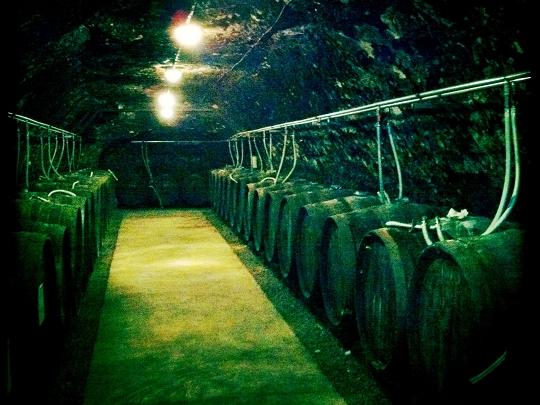 Domaine Huet - Portes ouvertes mai 2011 - Barriques d'elevage chauffées