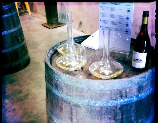 Domaine Huet - Portes ouvertes mai 2011 - Barriques vins blancs secs