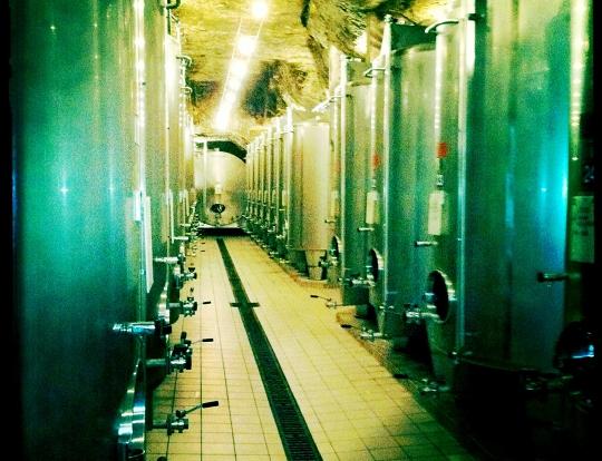 Domaine Huet - Portes ouvertes mai 2011 - Cuve Inox Fermentation