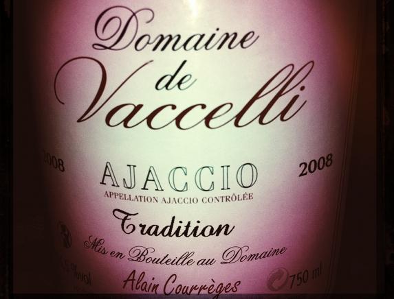 Domaine de Vaccelli - tradition - rouge - 2008
