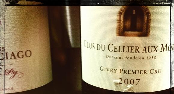 Givry premier cru - Clos du cellier aux moines - 2007