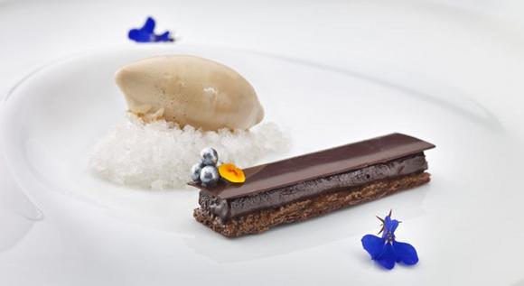 Martin Berasategui - Chocolat et miel acacia - cafe amer irlandais