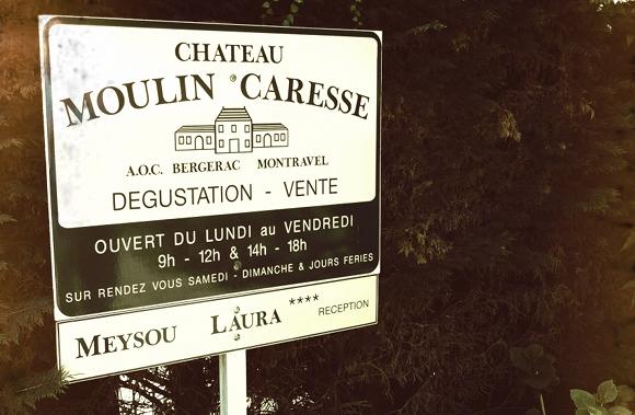 Montravel - Concours de degustation - mai 2011 - Moulin Caresse - Panneau