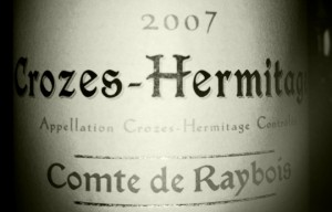 Ogier – Crozes Hermitage – Comte de Raybois – 2007
