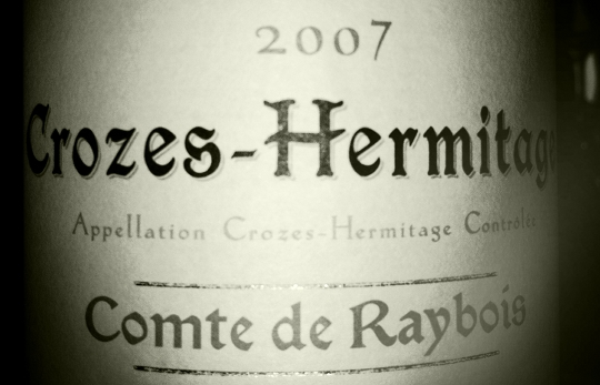 Ogier - Crozes Hermitage- Comte de Raybois - 2007
