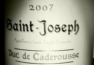 Ogier – Saint Joseph – Duc de Caderousse – 2007