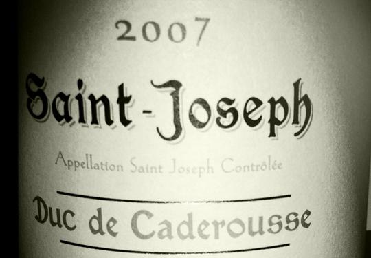 Ogier - Saint Joseph - Duc de Caderousse - 2007
