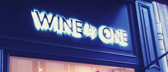Wine by One - Cave a vin - Paris 1