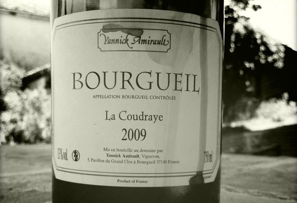 Blog vin - Yannick Amirault - La Coudraye - 2009 - Bourgueil - Loire