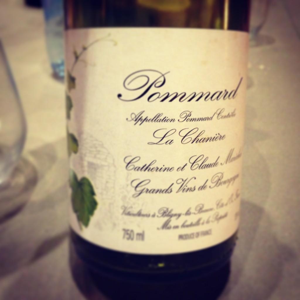 blog vin - Catherine et Claude Marechal - Pommard - 2005 - Bourgogne