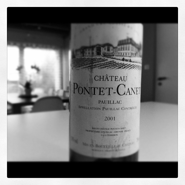 blog vin - Chateau Pontet Canet - 2001 - Pauillac