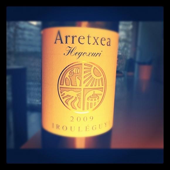 blog vin - Domaine Arretxea - Hegoxuri - Blanc - 2007 - Irouleguy