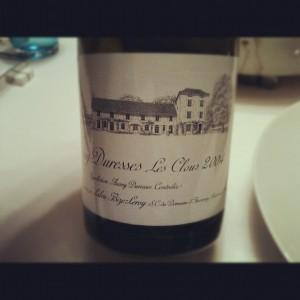 Domaine d'Auvenay – Auxey Duresses – Les Clous – 2004 – Bourgogne